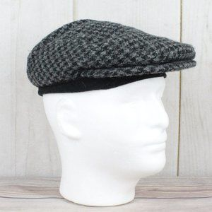 HARRIS TWEED Gore-tex Hand Woven Flat Cap Size SM